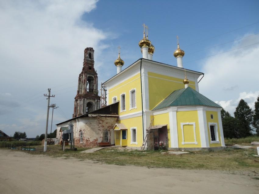 Церковь Илии Пророка, Ильинское