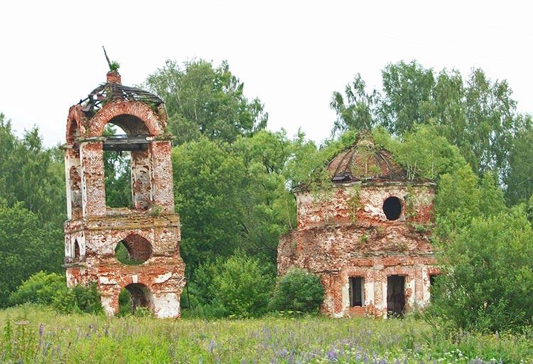 Церковь Николая Чудотворца-Фетиново-Киржачский район-Владимирская область