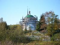 Церковь Спаса Нерукотворного Образа - Лютово - Ярославский район - Ярославская область