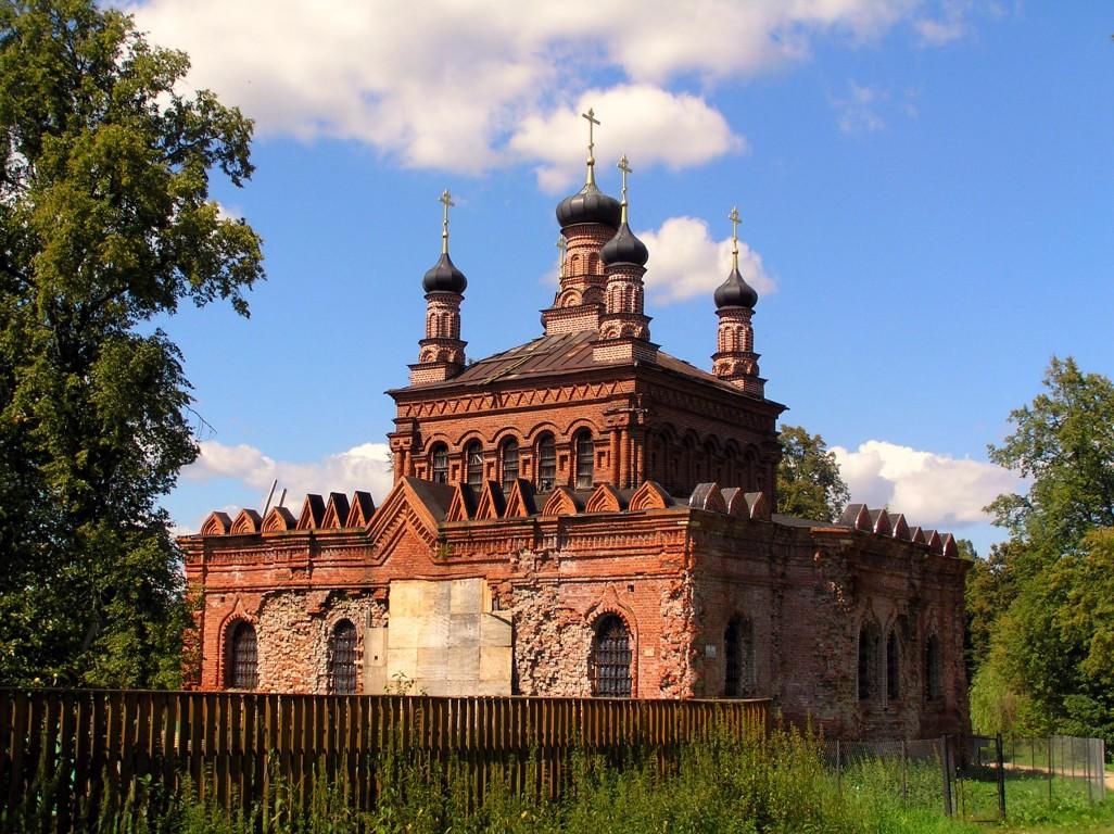 Церковь Покрова Пресвятой Богородицы-Кикино-Дмитровский район-Московская область