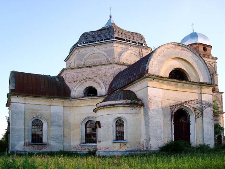Церковь Николая Чудотворца, Боболи