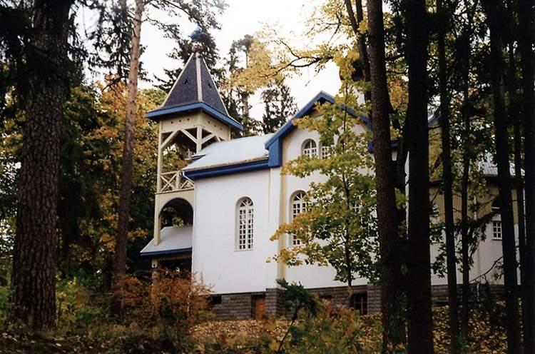 Церковь Николая Чудотворца, Огре