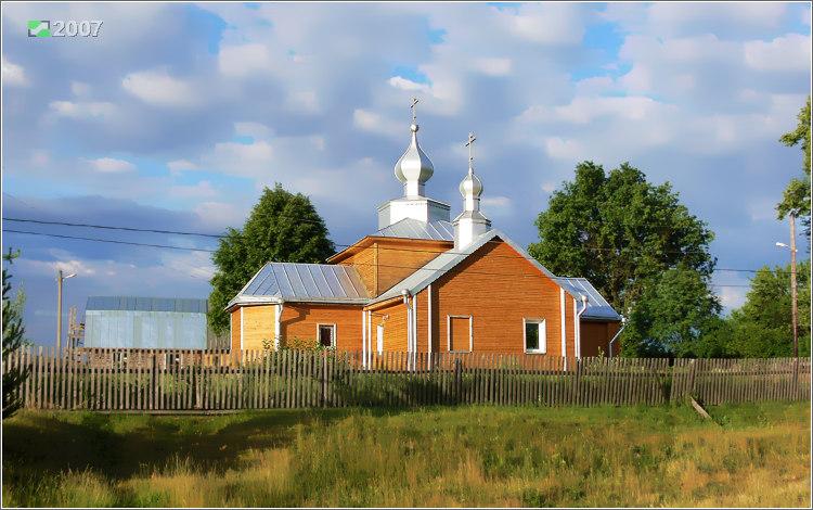 Церковь Смоленской иконы Божией Матери-Ильино-Клепиковский район-Рязанская область