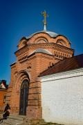 Свияжск. Иоанно-Предтеченский монастырь. Часовня Николая и Александры, царственных страстотерпцев