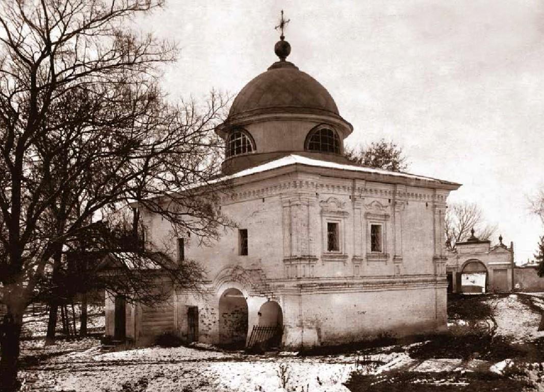 Горний Успенский женский монастырь. Церковь Алексия, человека Божия, Вологда
