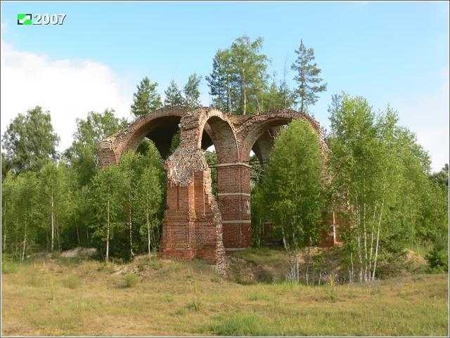 Церковь Успения Пресвятой Богородицы-Прудки-Клепиковский район-Рязанская область