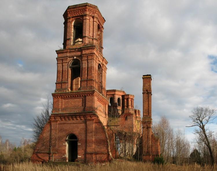 Церковь Николая Чудотворца-Ялмонть-Клепиковский район-Рязанская область