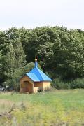 Часовня Воскресения Христова - Буреги - Старорусский район - Новгородская область
