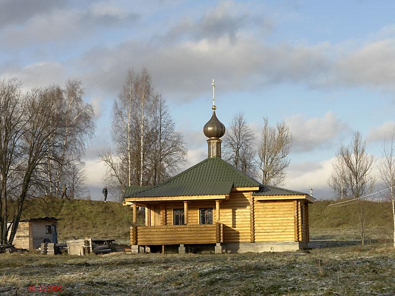 Церковь Успения Пресвятой Богородицы-Микулино-Лотошинский район-Московская область