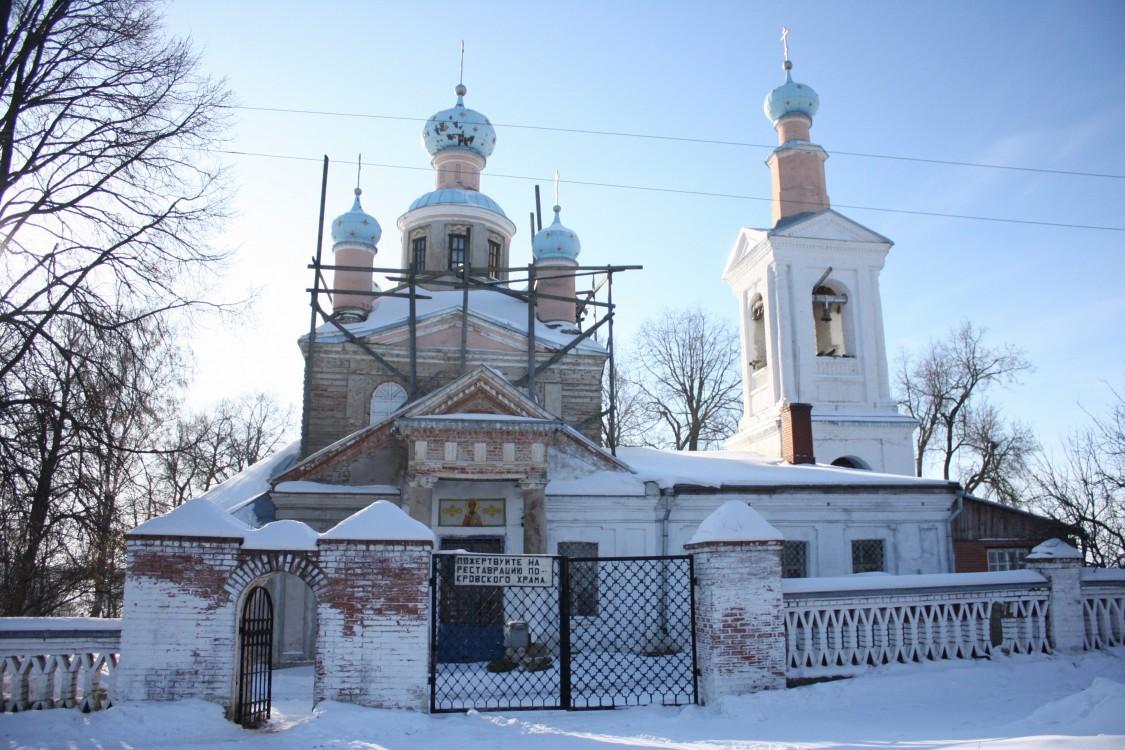 Церковь Покрова Пресвятой Богородицы, Покровское (Шестаковская с/а)