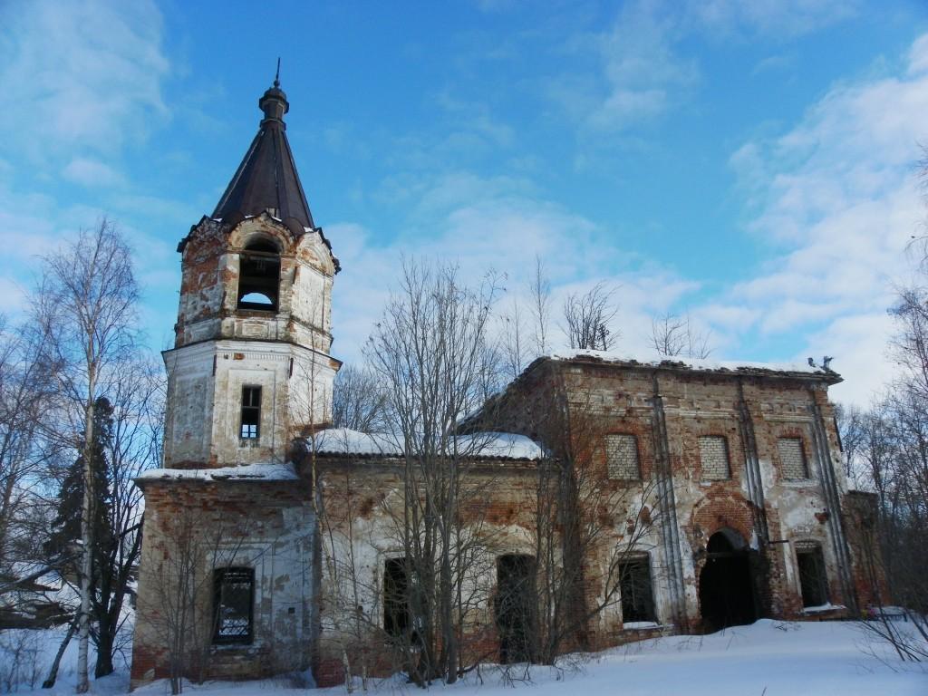 Церковь Казанской иконы Божией Матери, Шустручей (Кипрушино )