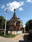 Серпухов. Спаса Нерукотворного Образа, церковь