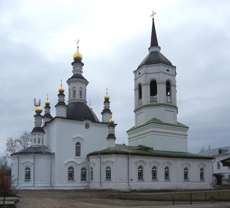 Богородице-Алексиевский монастырь. Церковь Казанской иконы Божией Матери, Томск