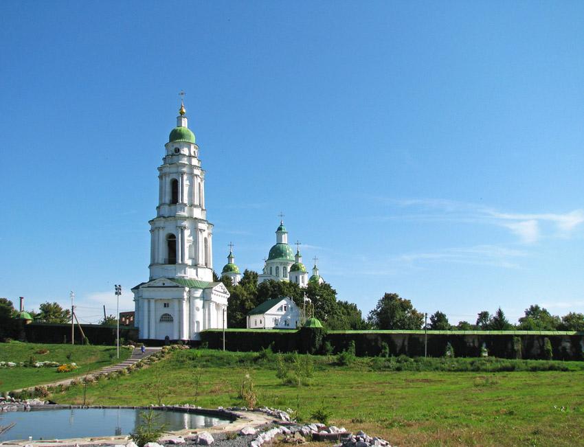 Спасо-Преображенский Мгарский монастырь-Мгарь-Лубенский район-Украина, Полтавская область