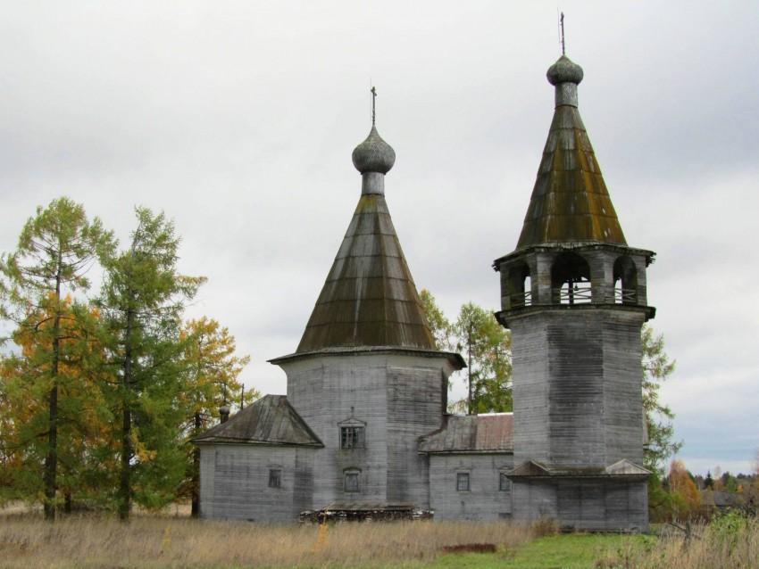 Церковь Богоявления Господня-Погост-Каргопольский район-Архангельская область