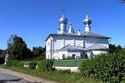 Церковь Воздвижения Креста Господня - Велье - Пушкиногорский район - Псковская область