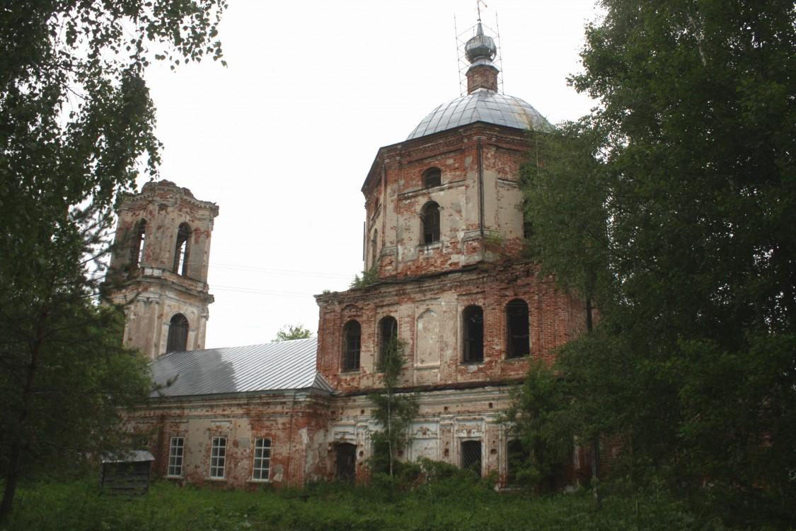 Церковь Вознесения Господня, Застолбье