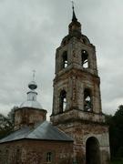 Церковь Всех Святых - Всехсвятский погост - Южский район - Ивановская область