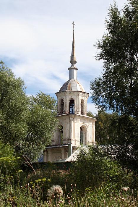 Благовещенский женский монастырь (новый). Церковь Воздвижения Креста Господня, Бежецк