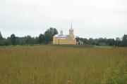 Церковь Николая Чудотворца - Лаудери - Зилупский край - Латвия