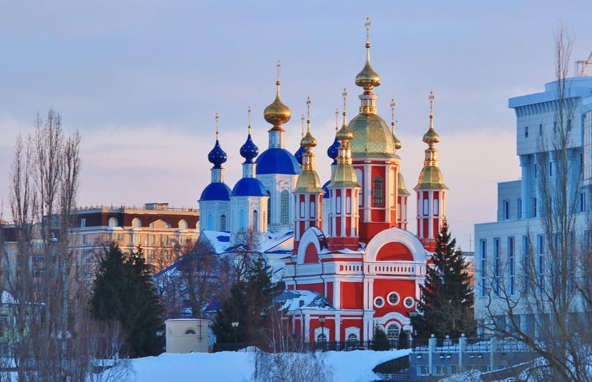 Казанский  Богородичный мужской монастырь, Тамбов