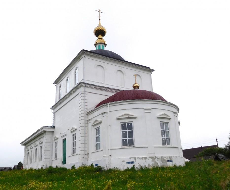Церковь Происхождения Честных Древ Креста Господня (Владимирской иконы Божией Матери), Толмачёво