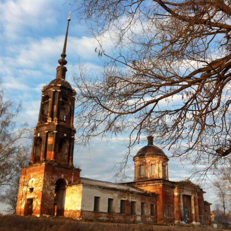 Воскресения Словущего церковь-Старая Хотча-Талдомский район-Московская область
