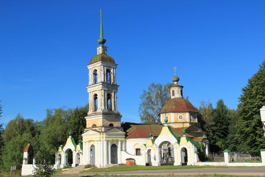 Церковь Спаса Преображения-Спас-Угол-Талдомский район-Московская область