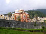 Новоафонский монастырь Святого Апостола Симона Кананита. Церковь Вознесения Господня - Новый Афон - Абхазия - Прочие страны