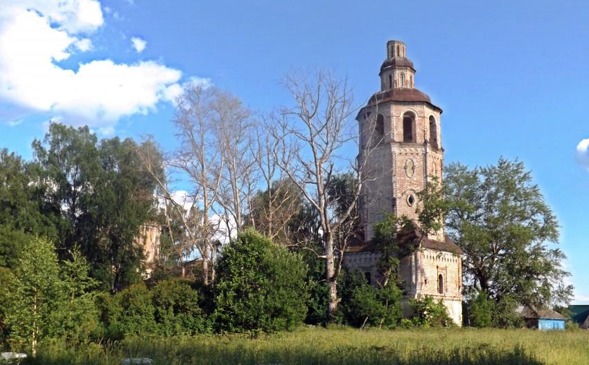 Церковь Спаса Нерукотворного Образа, Ошеть
