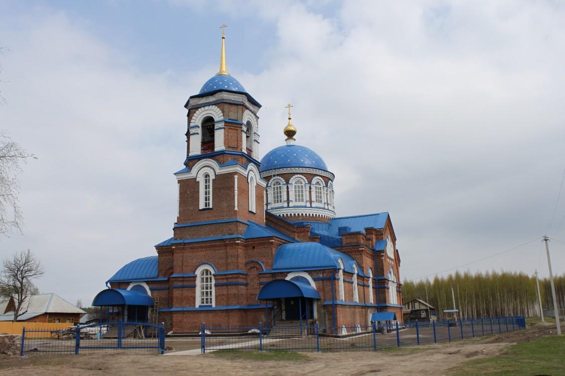 Церковь Успения Пресвятой Богородицы-Стружаны-Клепиковский район-Рязанская область