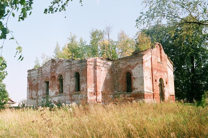 Церковь Казанской иконы Божией Матери, Николо-Кропотки