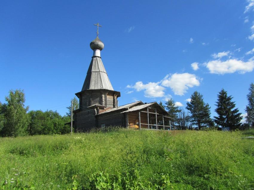 Церковь Нила Сорского-Ферапонтово-Кирилловский район-Вологодская область