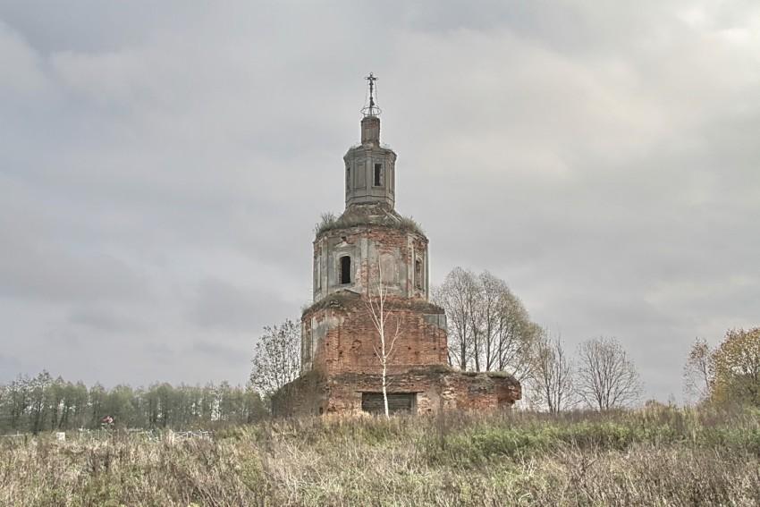 Церковь Спаса Преображения-Лосьмино-Вяземский район-Смоленская область