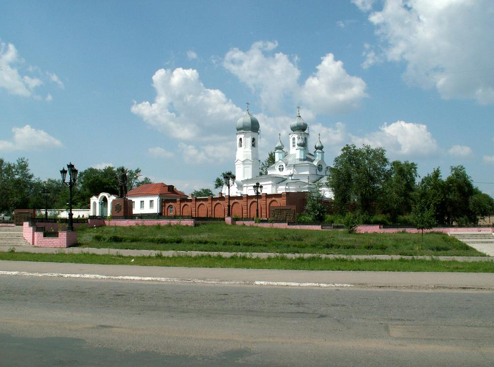 Церковь Димитрия Солунского, Троицк