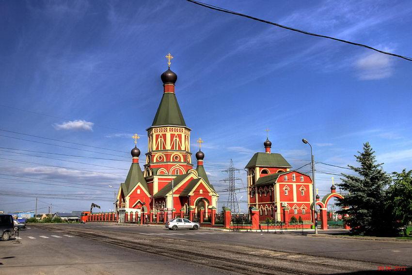 Церковь Иоанна Предтечи на Хованском кладбище-Москва-Новомосковский административный округ (НАО)-г. Москва