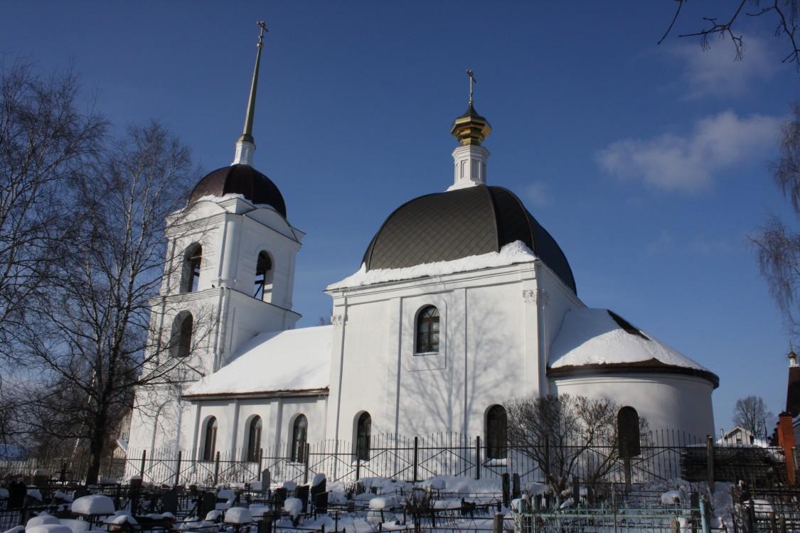 Церковь Спаса Преображения в Молчанове, Борозда