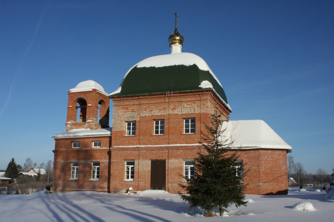 Церковь Петра и Павла, Шапкино
