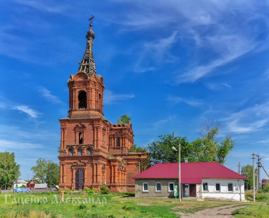 Церковь Николая Чудотворца, Алкужинские Борки