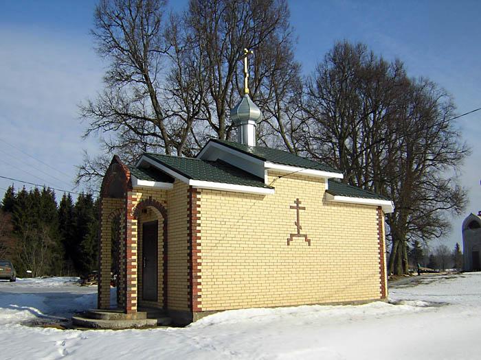 Мариинский Вохоновский женский монастырь. Церковь Силуана Афонского, Вохоново