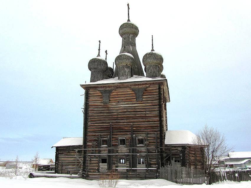 Церковь Покрова Пресвятой Богородицы (Сретения Господня), Заостровье