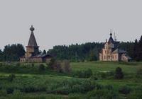 Храмовый комплекс деревни Кальи - Калья - Виноградовский район - Архангельская область