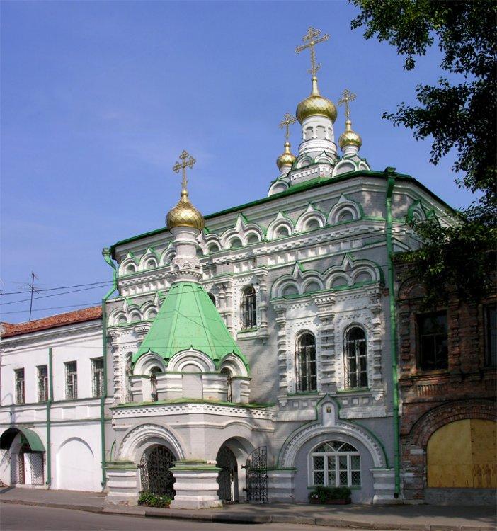 Церковь Зосимы, Савватия и Германа Соловецких, Архангельск