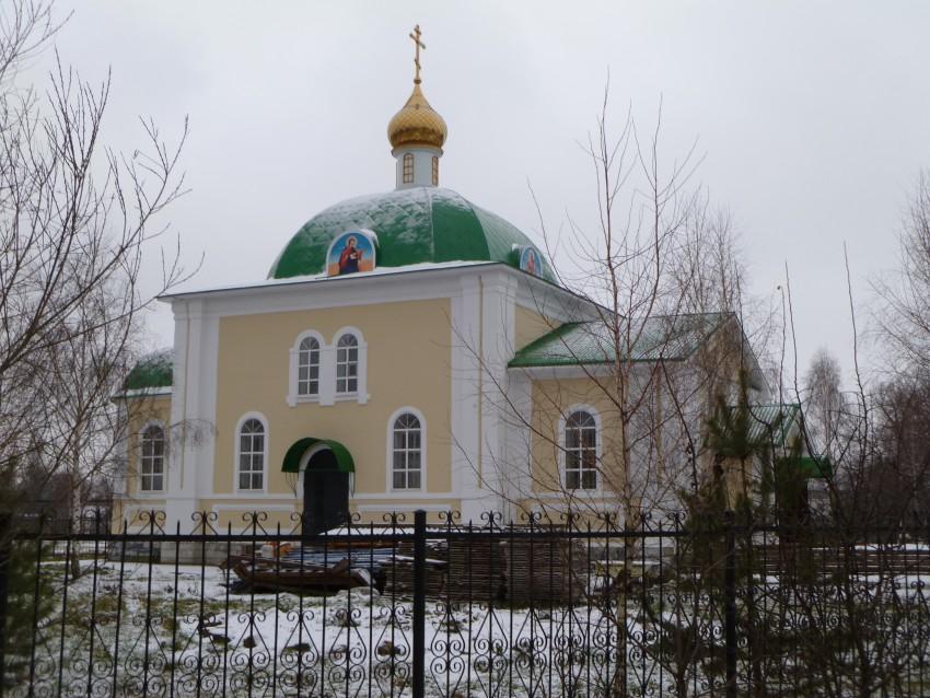 Церковь Спаса Преображения, Лаврово