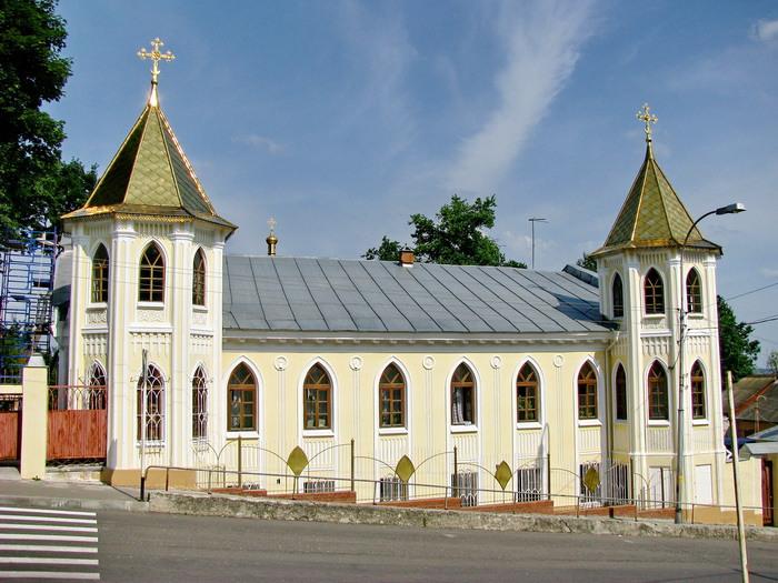 Горно-Никольский Епархиальный мужской монастырь. Церковь Сергия Радонежского в Архиерейском доме, Брянск