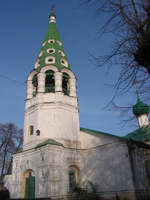 Церковь Николая Чудотворца (Николы Пенского), Ярославль