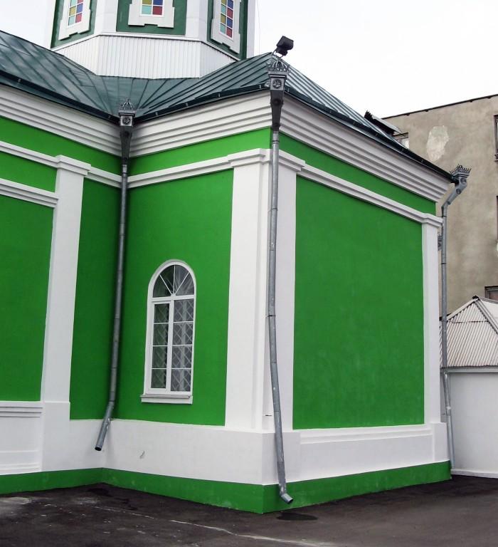 Церковь Троицы Живоначальной, Шатки