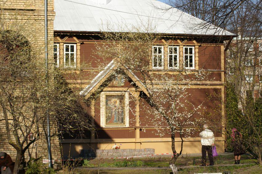 Рижский Троице-Сергиев женский монастырь. Домовая церковь Сергия Радонежского, Рига