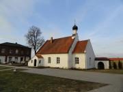 Екабпилсский Свято-Духов мужской монастырь. Церковь Николая Чудотворца - Екабпилс - Екабпилс, город - Латвия