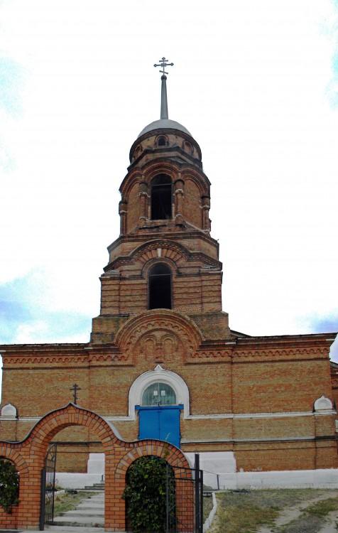 Главный придел храма - в честь воскресения христова, приделы - в адрес: 397420, воронежская область